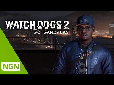 Watch Dogs 2 : vidéo de gameplay sur PC