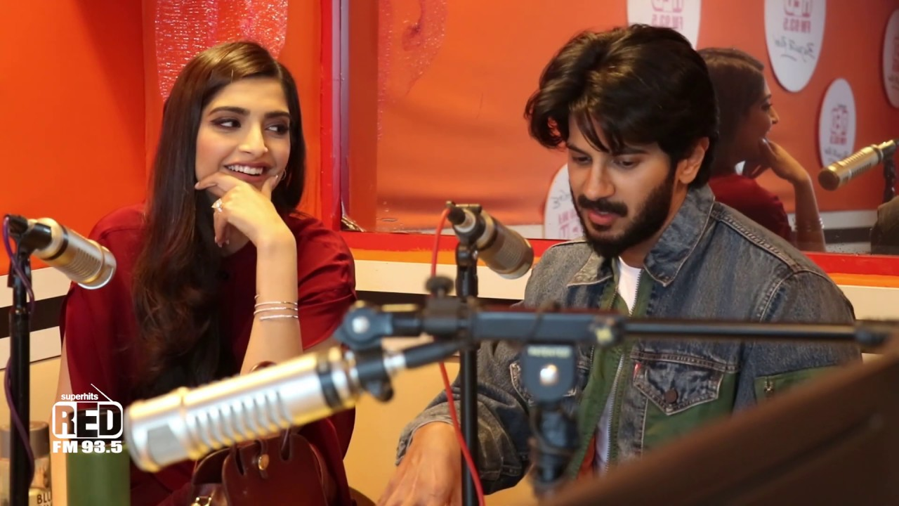 Sonam Kapoor & Dulquer Salmaan with Malishka |The Zoya Factor