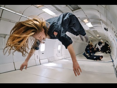 I got to be weightless for 7.5 minutes
