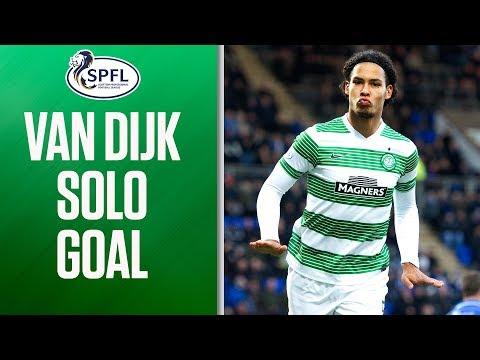 Virgil Van Dijk Scores Sensational Solo Goal! | SPFL