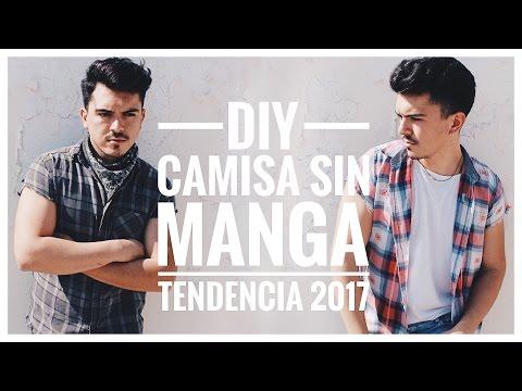 •DIY | CAMISA SIN MANGAS DISTRESS | TENDENCIA 2017•