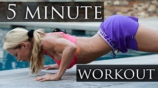 5 Minute Workout #8 - The BodyBomber by Zuzka Light