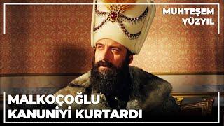 Malkoçoğlu, Kanuni'yi Kurtarır - Muhteşem Yüzyıl 85.Bölüm
