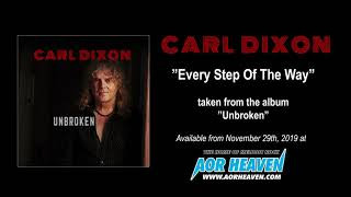 CARL DIXON - Every step of the way