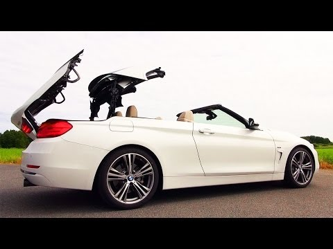 BMW 435i Presentation Roof Open Cabrio Verdeck Review Impressions F33 2014 commercial trailer
