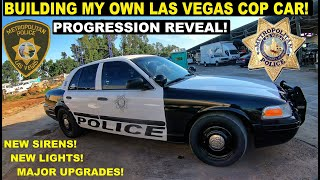 Im Building My own Las Vegas Metro Police Car! Ford Crown Victoria 5