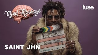 "SAINt JHN Tries ASMR, Whispers The Meaning Of ""McDonalds Rich"" 