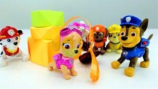 Щенячий патруль МУЛЬТИК ИЗ ИГРУШЕК!  Видео про игрушки и 23 февраля 🎁 для детей #щенячийпатруль!