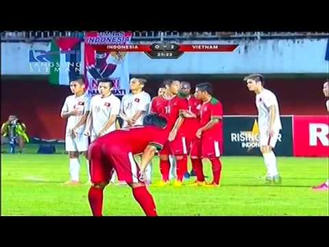 Highlight INDONESIA Vs VIETNAM 9 OKTOBER 2016 2-2