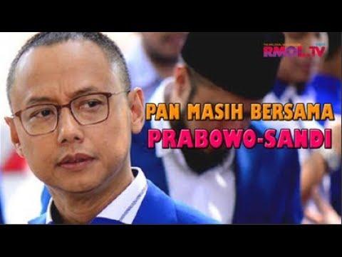 PAN Masih Bersama Prabowo-Sandi
