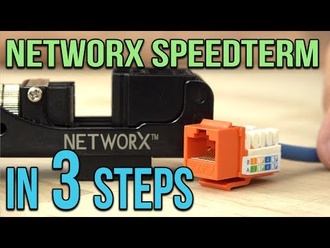 How to use Networx SpeedTerm Jacks & Tools in THREE steps