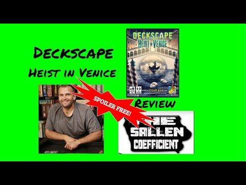 The Sallen Coefficient Review of Deckscape Heist in Venice
