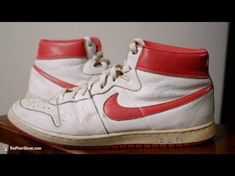 Selling Sole: How Michael Jordan's Signed Rookie Shoes Ended Up For Sale