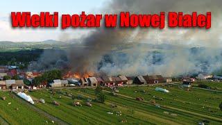 Film do artykułu: Pożar w Nowej Białej. Skala...
