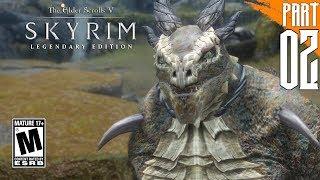 【SKYRIM 200+ MODS】Argonian Gameplay Walkthrough Part 2 [PC - HD]