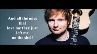 Save myself - Ed Sheeran (Lyrics)