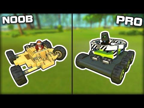 NOOB vs PRO No Seat Challenge! (Scrap Mechanic Gameplay)