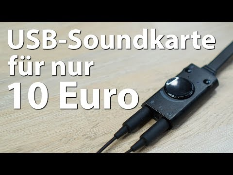 Die BESTE USB-Soundkarte für 10 Euro - Von CSL und TechRise - Rauschfrei und mit viel Power