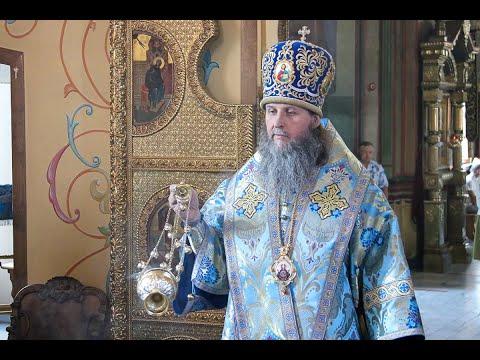 Проповедь митрополита Даниила в Александро-Невский кафедральный соборе города Кургана