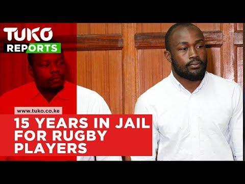 Rugby players Frank Wanyama and Alex Olaba jailed for 15 years | Tuko TV
