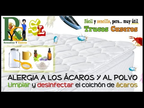 Bicarbonato de sodio, excelente remedio para limpiar y desinfectar el colchón, limpiar la cama