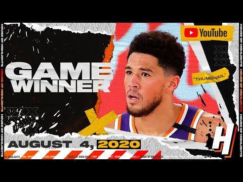 Devin Booker GAME-WINNER vs Clippers! 35 Points 8 Ast Full Highlights | August 4, 2020