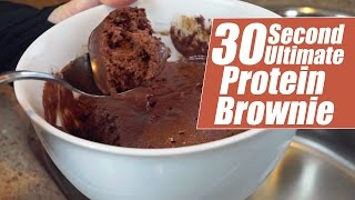 30 Second Ultimate Protein Brownie With Kara Corey | Tiger Fitness