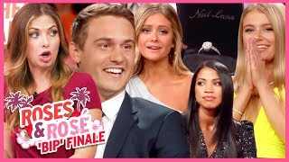 Bachelor in Paradise: Roses and Rose: Peter Weber is Bachelor, 3 Couples Engaged on Finale Tell All