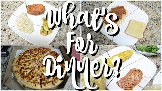 What's For Dinner? | Easy Dinner Ideas | Working Mom Easy Dinners | Cook With Me | Affordable Meals
