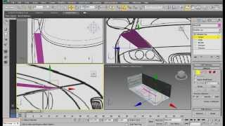 3ds max blueprint high quality tutorialsetup for modeling most setting up blueprints in 3ds max malvernweather Choice Image