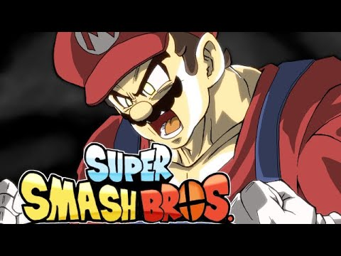 Mario Goes Super Saiyan In This Smash Bros X Dragon Ball Mashup