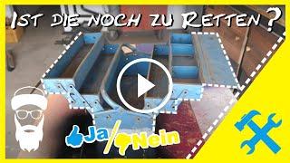 Restauration eines alten Werkzeugkasten - ASMR Restaurierung - Teil 1