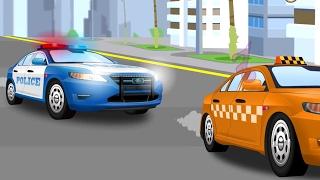 Voiture de police - Dessins animés pour bébés - Partie 3