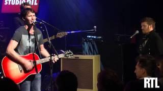 James Blunt - Blue on Blue en live dans le Grand Studio RTL - RTL - RTL