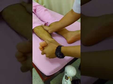 การรักษากระแทกบนนิ้วหัวแม่เท้า