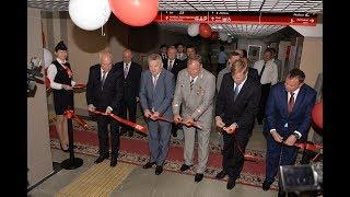 Открытие пешеходного тоннеля на железнодорожном вокзале Хабаровска