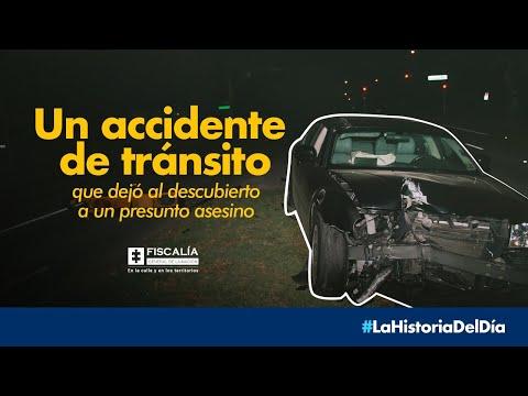 Un accidente de tránsito que dejó al descubierto a un presunto asesino