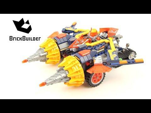 Vidéo LEGO Nexo Knights 70354 : La foreuse d'Axl