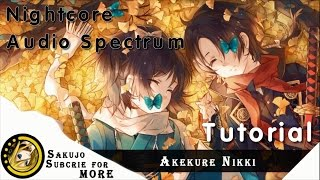 After Effects: Nightcore Audio Spectrum Tutorial
