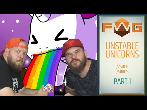 Unstable Unicorns | Unikornishadsereggel a világ ellen (Zsolti, Sirius, Kaci) - Fun With Geeks