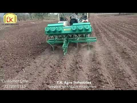 Seed Drill (with Maize Attachment Maize)