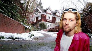 #924 KURT COBAIN's Seattle Drug Den & Last House   Last Days   Daily Travel Vlog (21619)