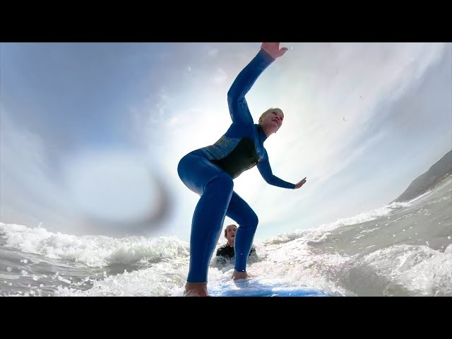 Life's First-Evers with Jeannie, Ep. 6: First Time Surfing