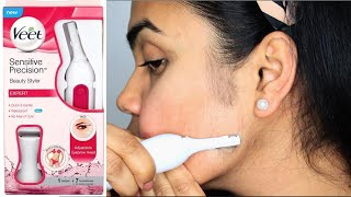 How to Remove Facial Hair | VEET DERMAPLANING AT HOME