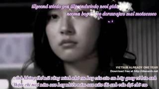 [Vietsub + Kara] Already One Year - Brown Eyes (Kim Bum & Kim So Eun Ver.).avi