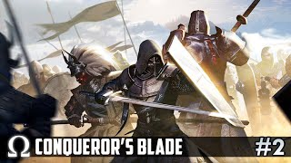 STORMING THE CASTLE WITH DELIRIOUS! | Conqueror's Blade #2 Multiplayer Gameplay Ft. H2O Delirious