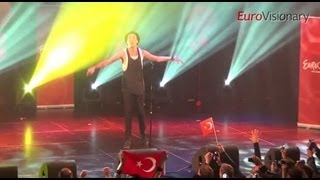 Can Bonomo - Love Me Back - 3D - Eurovision In Concert - Turkey - 2012 - Eurovision Song Contest