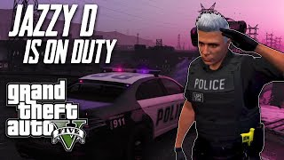 Our First ever DAY STREAM - GTA 5 Role Play Live Stream - Officer Jazzy patrolling !