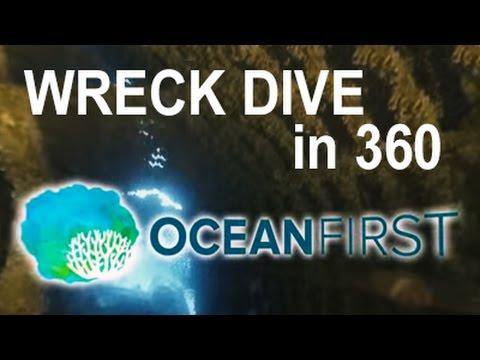 360º Orbital Video of ShipWreck