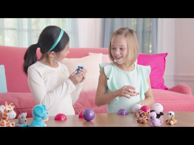 М'Яка Іграшка-Антистрес В Кулі Surprizamals – Крихітки Каваї